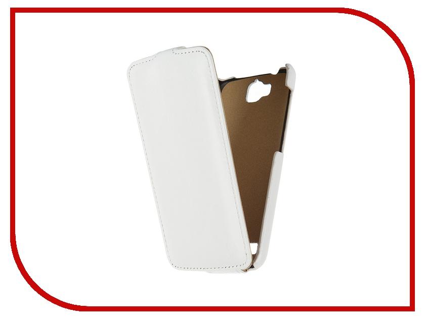 Аксессуар Чехол Huawei Honor 3C Lite Pulsar Shellcase White PSC0791