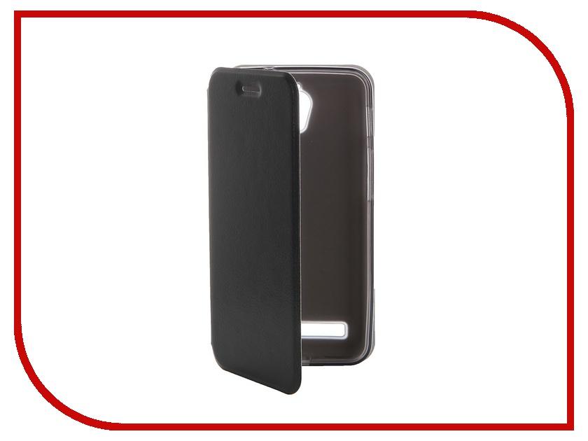 Аксессуар Чехол ASUS ZenFone C ZC451CG SkinBox Lux Black T-S-AZC-003<br>