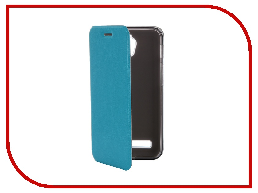Аксессуар Чехол ASUS ZenFone C ZC451CG SkinBox Lux Blue T-S-AZC-003 аксессуар чехол накладка asus zenfone c zc451cg skinbox 4people black t s azc 002 защитная пленка