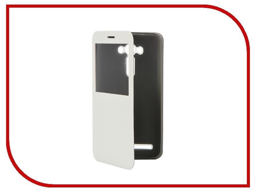 Аксессуар Чехол ASUS ZenFone Laser 2 ZE550KL SkinBox Lux AW White T-S-AZZE5550KL-004<br>