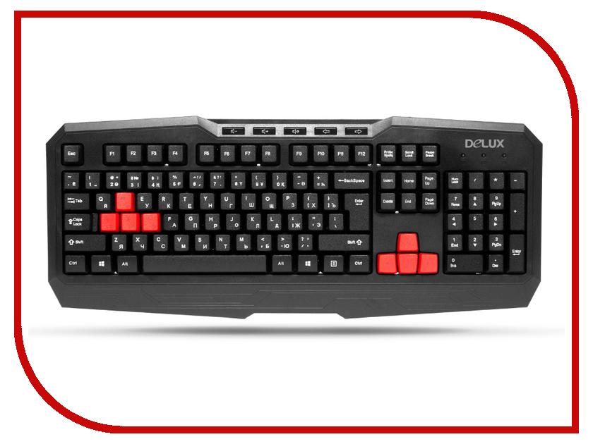 Клавиатура Delux K9020U USB