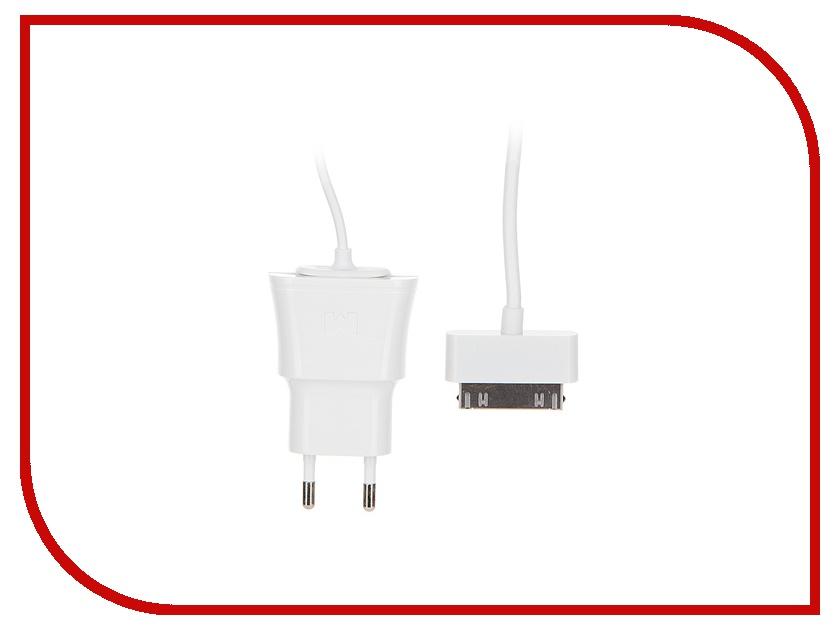 Зарядное устройство Maverick 1089 для iPhone 4/4S / iPad White сетевое<br>