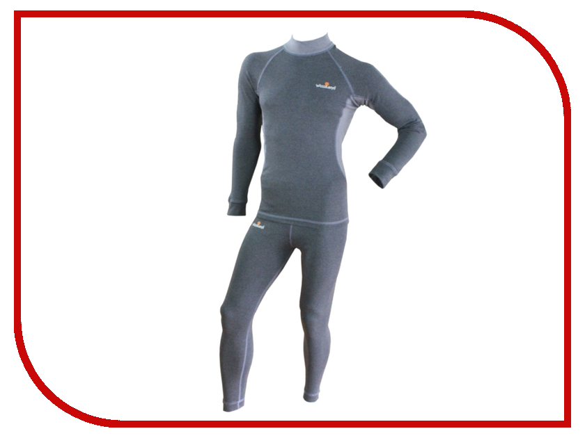 Термобелье WoodLand Soft Thermo Plus XXXL Grey термобелье woodland soft thermo s dark grey 0057728