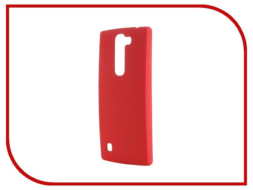 Аксессуар Чехол-накладка LG G4C Pulsar Clipcase PC Soft-Touch Red PCC0043 аксессуар чехол накладка asus zenfone 2 ze500cl pulsar clipcase pc soft touch black pcc0038