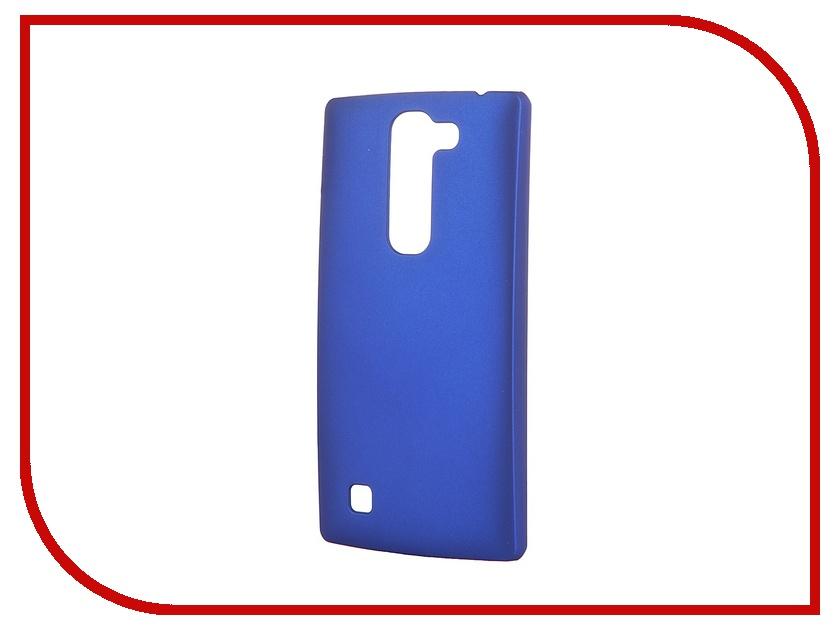 Аксессуар Чехол-накладка LG G4C Pulsar Clipcase PC Soft-Touch Blue PCC0044<br>
