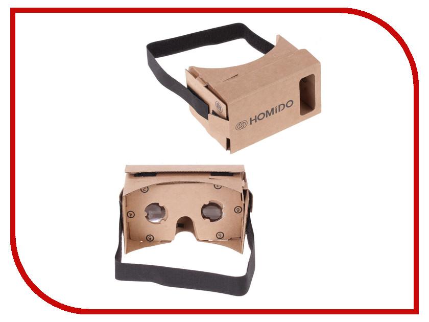 Видео-очки HOMIDO Cardboard v1.0<br>