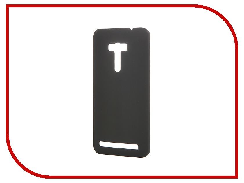 Аксессуар Чехол-накладка Asus Zenfone Selfie ZD551KL Pulsar Clipcase PC Soft-Touch Black PCC0035<br>