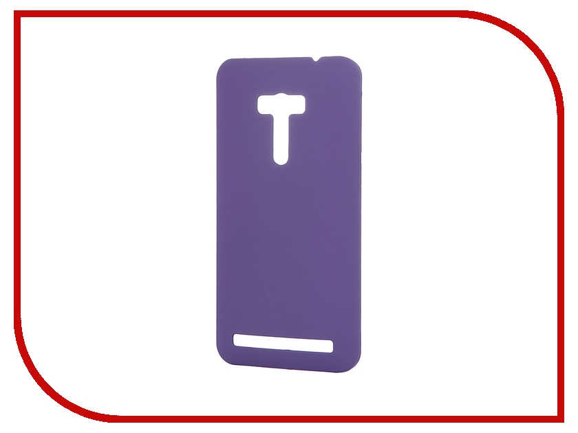 Аксессуар Чехол-накладка Asus Zenfone Selfie ZD551KL Pulsar Clipcase PC Soft-Touch Violet PCC0036<br>