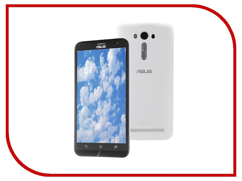 Сотовый телефон ASUS ZenFone 2 Laser ZE550KL 16Gb White<br>