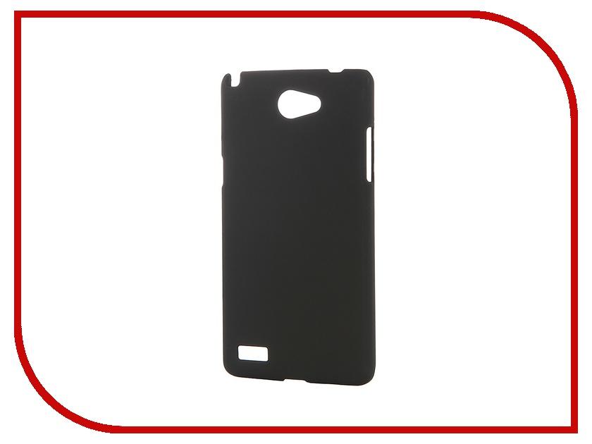 Аксессуар Чехол-накладка LG Max (L Bello 2) SkinBox 4People Black T-S-LLB2-002 + защитная пленка
