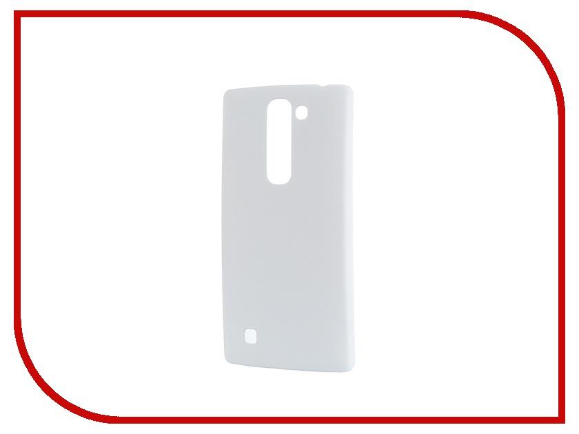 Аксессуар Чехол-накладка LG G4C SkinBox 4People White T-S-LG4C-002 + защитная пленка
