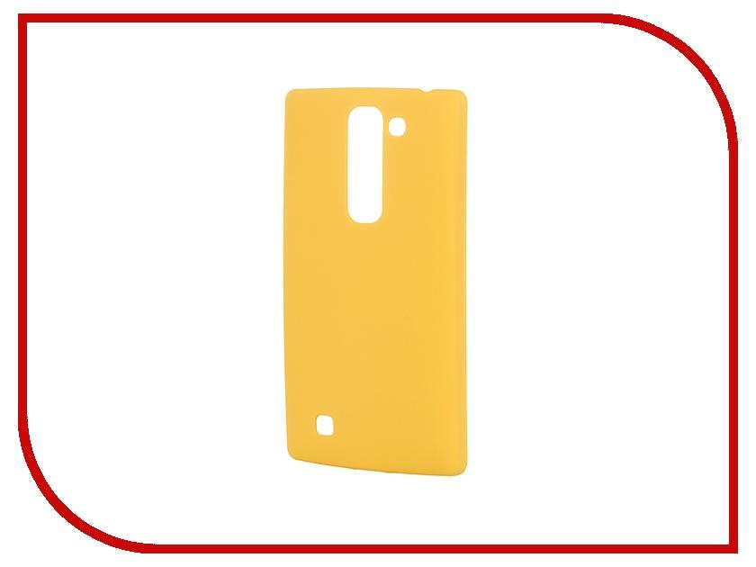 Аксессуар Чехол-накладка LG G4C SkinBox 4People Yellow T-S-LG4C-002 + защитная пленка