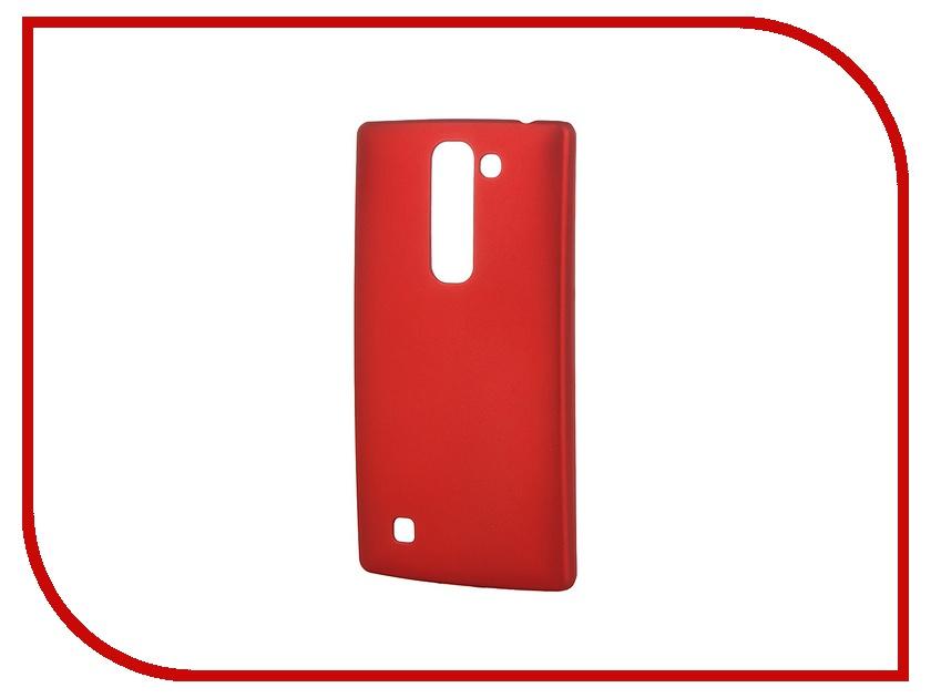 Аксессуар Чехол-накладка LG G4C SkinBox 4People Red T-S-LG4C-002 + защитная пленка
