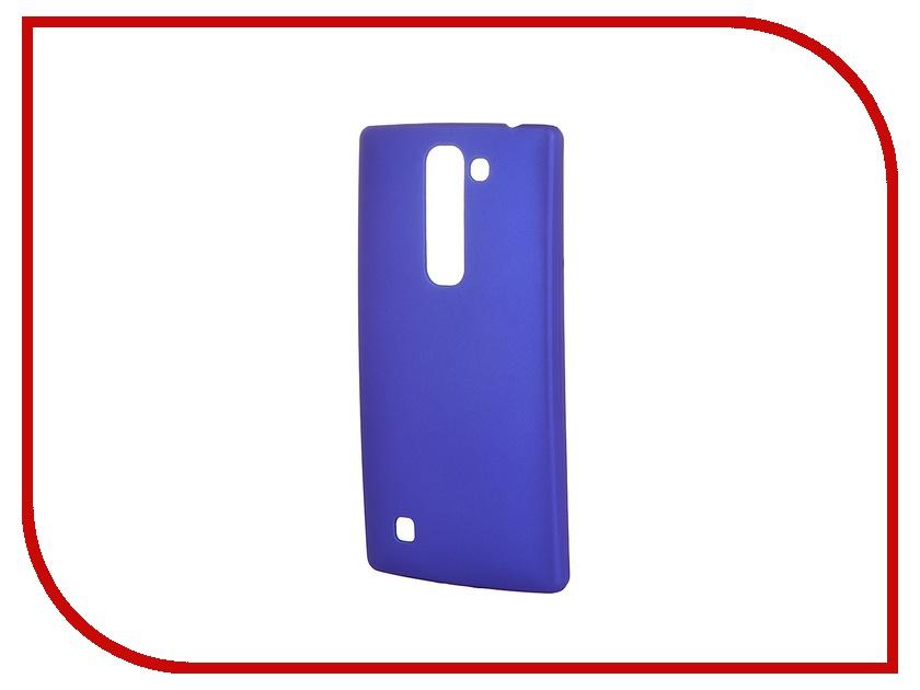 Аксессуар Чехол-накладка LG G4C SkinBox 4People Blue T-S-LG4C-002 + защитная пленка аксессуар чехол накладка asus zenfone c zc451cg skinbox 4people black t s azc 002 защитная пленка