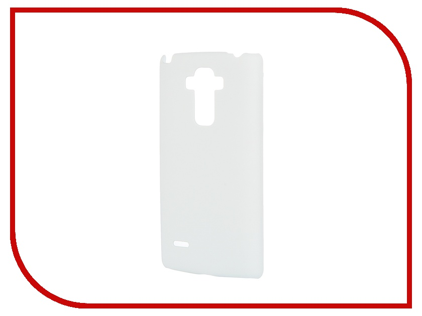 Аксессуар Чехол-накладка LG G4 Stylus SkinBox 4People White T-S-LG4Stylus-002 + защитная пленка skinbox 4people чехол для lg g3 stylus yellow