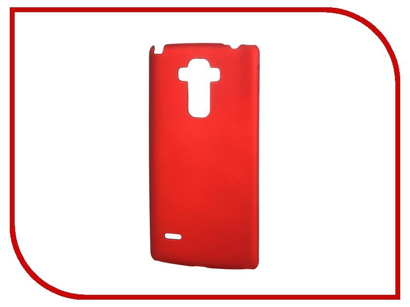 Аксессуар Чехол-накладка LG G4 Stylus SkinBox 4People Red T-S-LG4Stylus-002 + защитная пленка skinbox 4people чехол для lg g3 stylus yellow