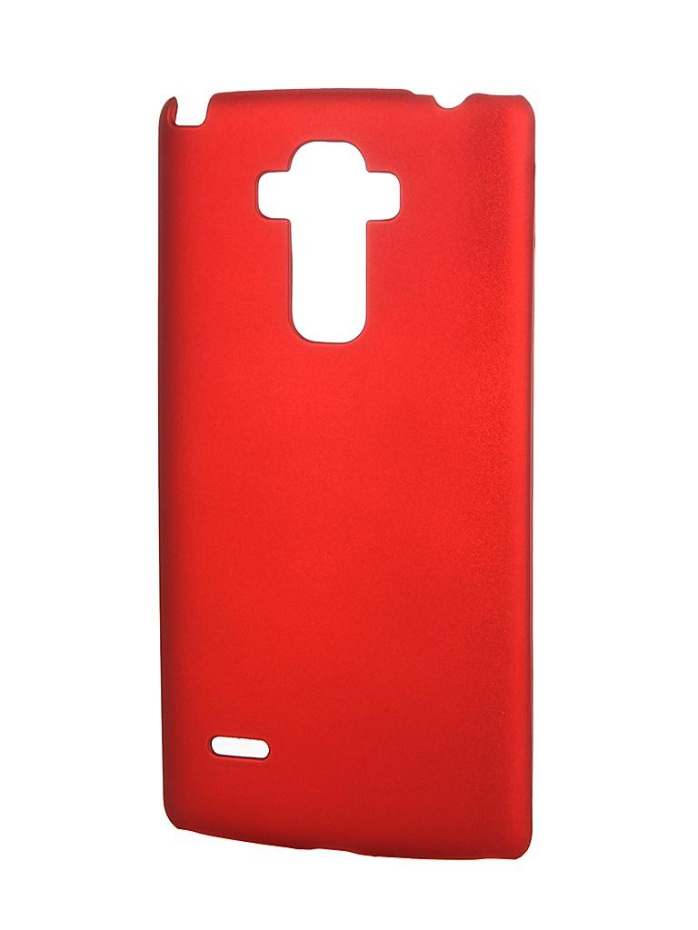��������� �����-�������� LG G4 Stylus SkinBox 4People Red T-S-LG4Stylus-002 + �������� ������