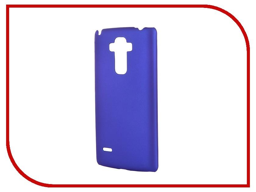 Аксессуар Чехол-накладка LG G4 Stylus SkinBox 4People Blue T-S-LG4Stylus-002 + защитная пленка<br>