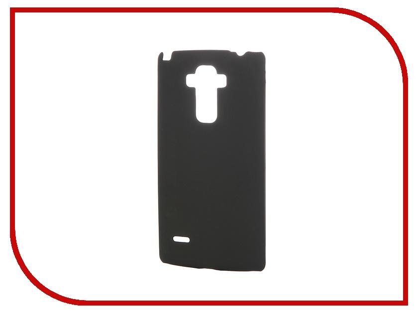 Аксессуар Чехол-накладка LG G4 Stylus SkinBox 4People Black T-S-LG4Stylus-002 + защитная пленка<br>