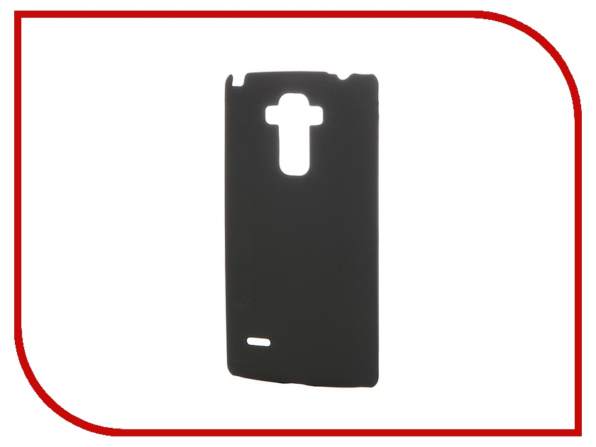 Аксессуар Чехол-накладка LG G4 Stylus SkinBox 4People Black T-S-LG4Stylus-002 + защитная пленка skinbox 4people чехол для lg g3 stylus yellow