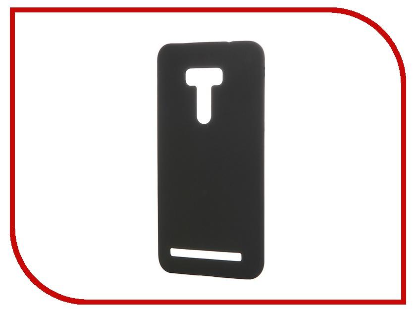 Аксессуар Чехол-накладка ASUS ZenFone Selfie ZD551KL SkinBox 4People Black T-S-AZS-002 + защитная пленка<br>
