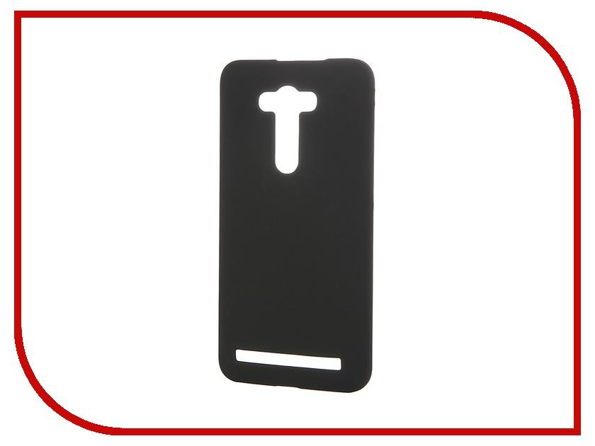 Аксессуар Чехол-накладка ASUS ZenFone Laser 2 ZE550KL SkinBox 4People Black T-S-AZZE550KL-002 + защитная пленка<br>