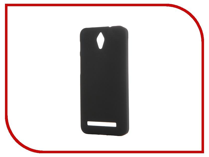 Аксессуар Чехол-накладка ASUS ZenFone C ZC451CG SkinBox 4People Black T-S-AZC-002 + защитная пленка аксессуар чехол накладка asus zenfone c zc451cg cherry red 8268