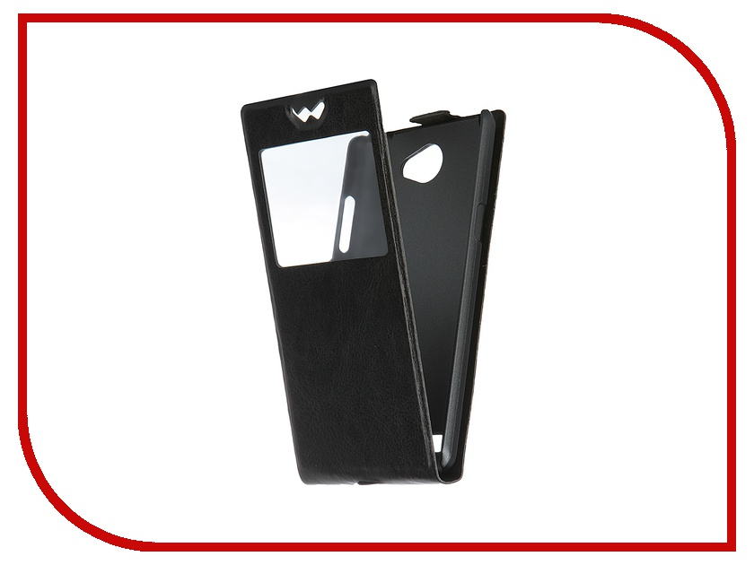 Аксессуар Чехол LG Max (L Bello 2) SkinBox Slim AW Black T-F-LM-001<br>