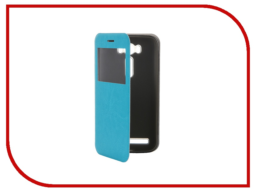 Аксессуар Чехол ASUS ZenFone Laser 2 ZE500KL/ZE500KG SkinBox Lux AW Blue T-S-AZL2-003<br>