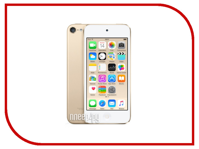 Плеер APPLE iPod Touch 6 - 64Gb Gold MKHC2RU/A<br>