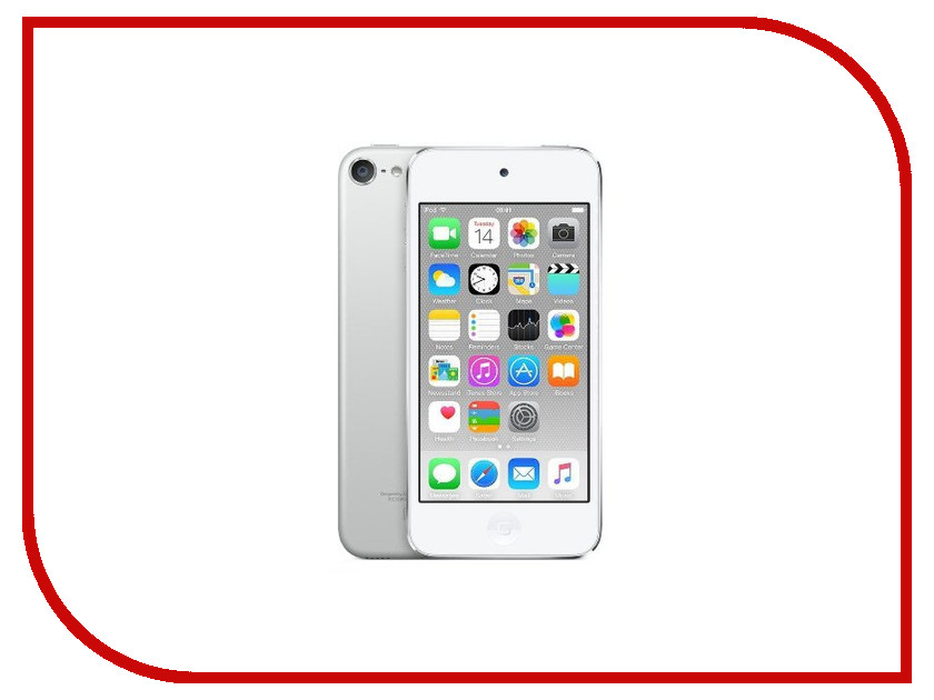 Плеер APPLE iPod Touch 6 - 16Gb Silver MKH42RU/A<br>