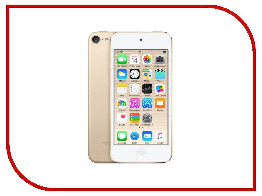 Плеер APPLE iPod Touch 6 - 32Gb Gold MKHT2RU/A цена