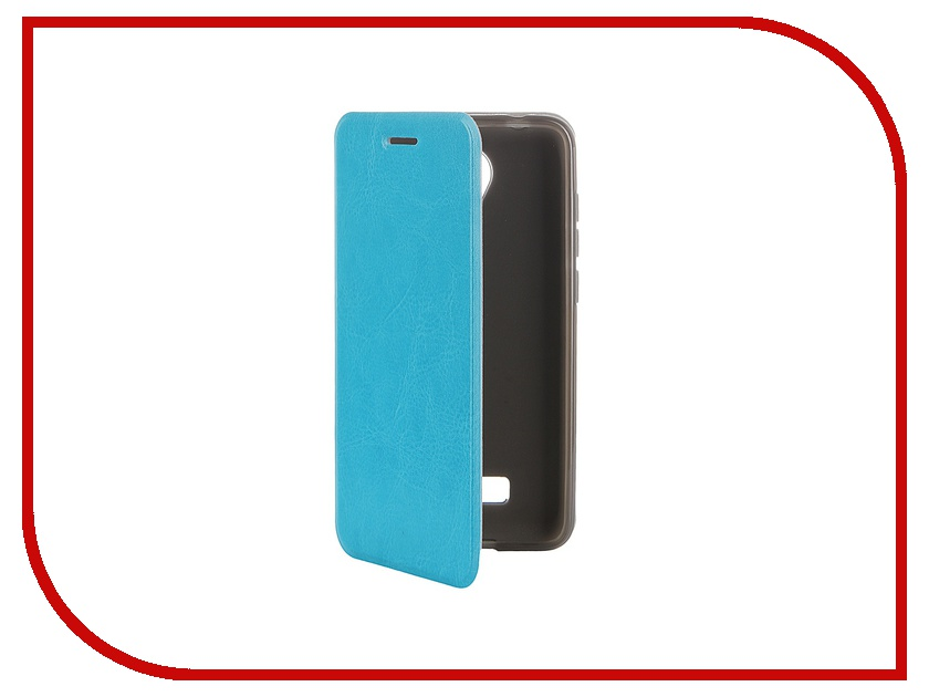 ��������� ����� Micromax Canvas Spark Q380 SkinBox Lux Blue T-S-MCSQ380-003
