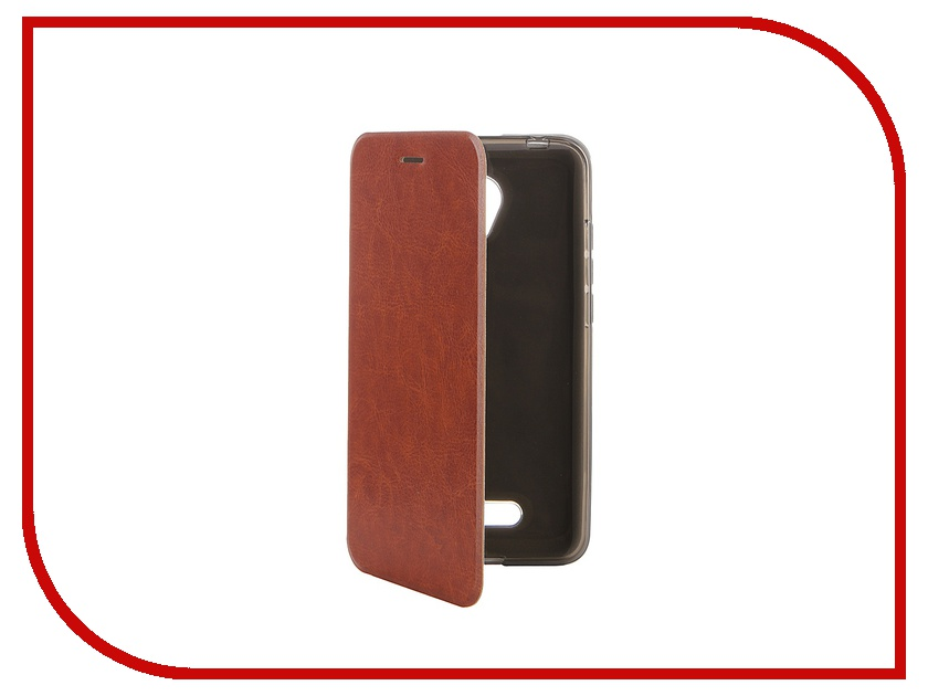 Аксессуар Чехол Micromax Canvas Spark 2 Q391 SkinBox Lux Brown T-S-MCS2-003 kid s box level 2 pupil s book