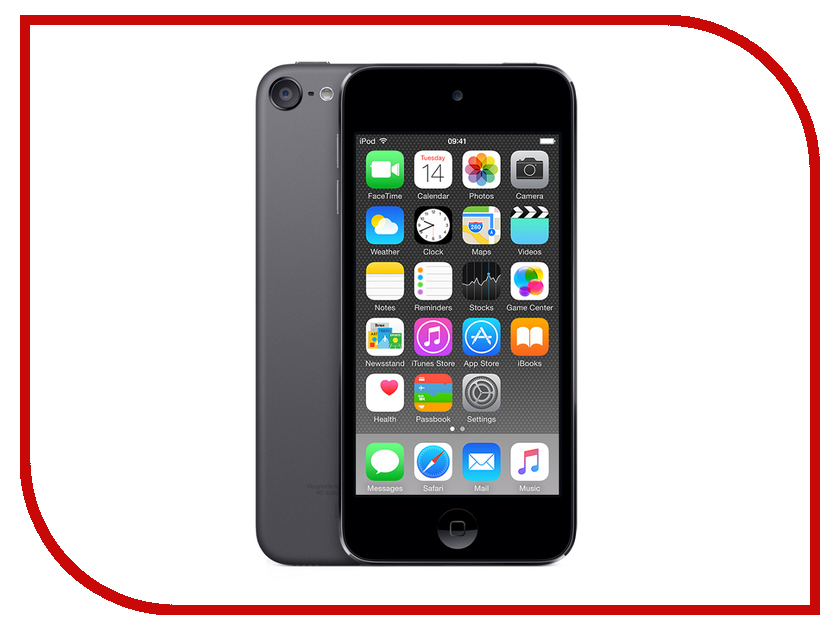 Плеер APPLE iPod Touch 6 - 32Gb Space Grey MKJ02RU/A цена