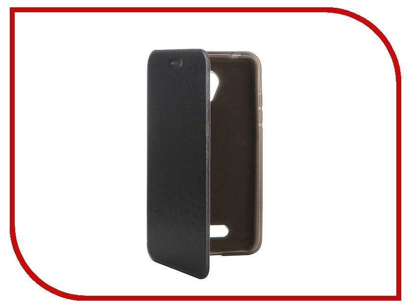 купить Аксессуар Чехол Micromax Canvas Spark 2 Q391 SkinBox Lux Black T-S-MCS2-003 недорого