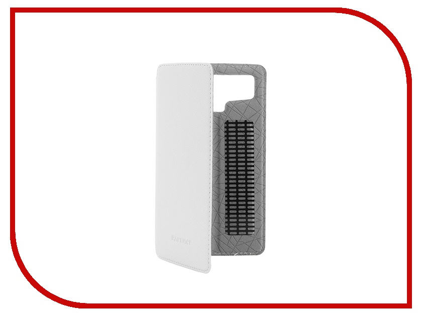Аксессуар Чехол 4.5-inch Partner Book-case универсальный White ПР033146