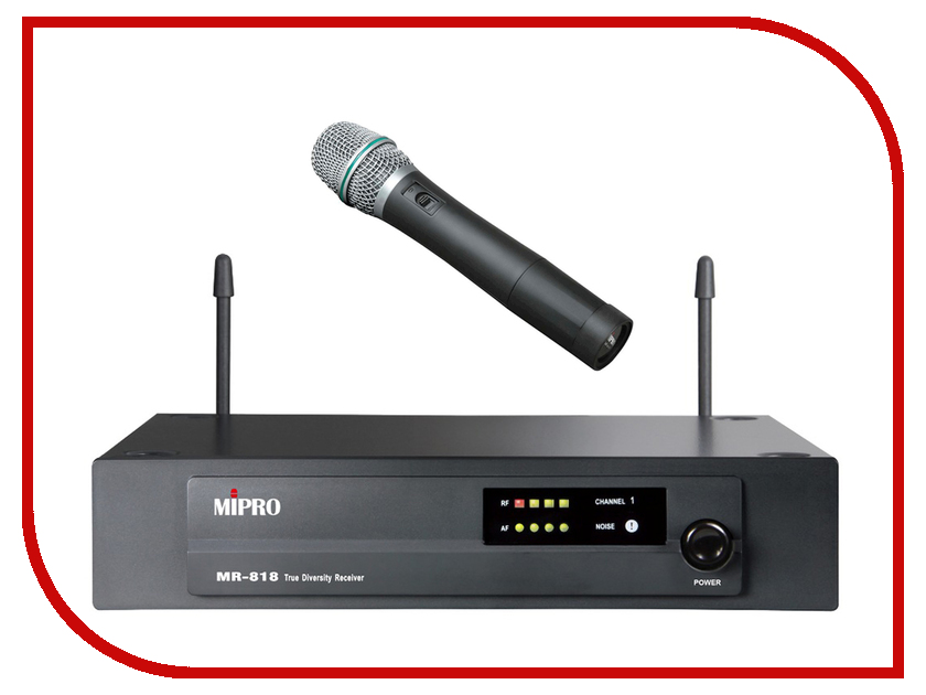 Радиомикрофон MIPRO MR-818/MH-80