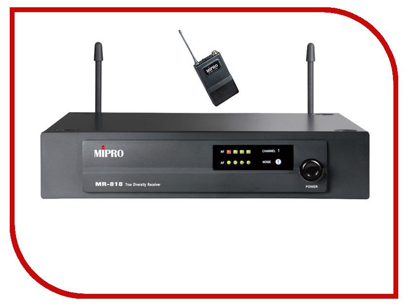 Радиомикрофон MIPRO MR-818/MT-801a