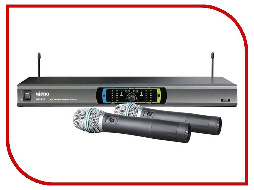 Радиомикрофон MIPRO MR-823/MH-80*2