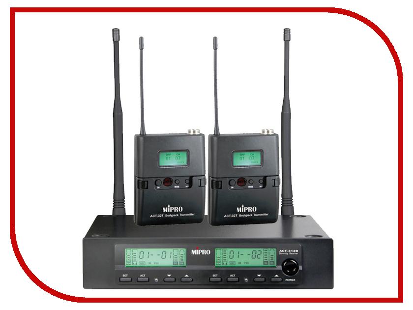 Радиомикрофон MIPRO ACT-312B/ACT-32T*2