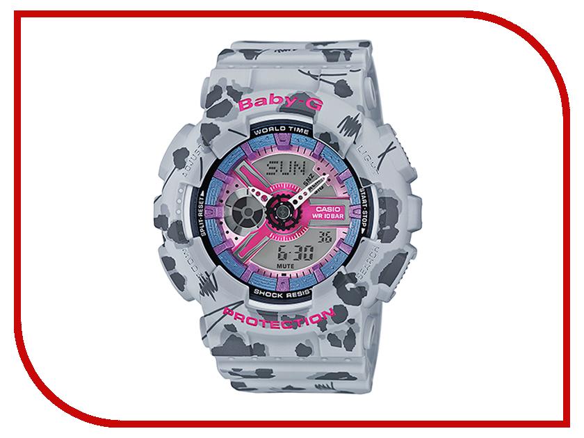 Часы наручные аналоговые Casio Baby-G BA-110FL-8A
