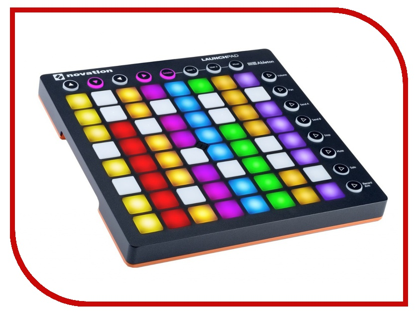 MIDI-контроллер Novation LaunchPad mk II novation launchkey 49 mk2