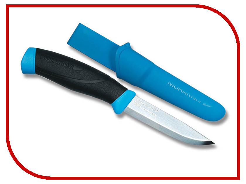 Нож Morakniv Companion Blue - длина лезвия 103мм нож morakniv bushcraft desert camo 11832