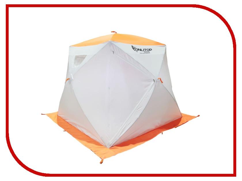 Палатка Onlitop Призма 150 Стандарт White-Orange 1176212