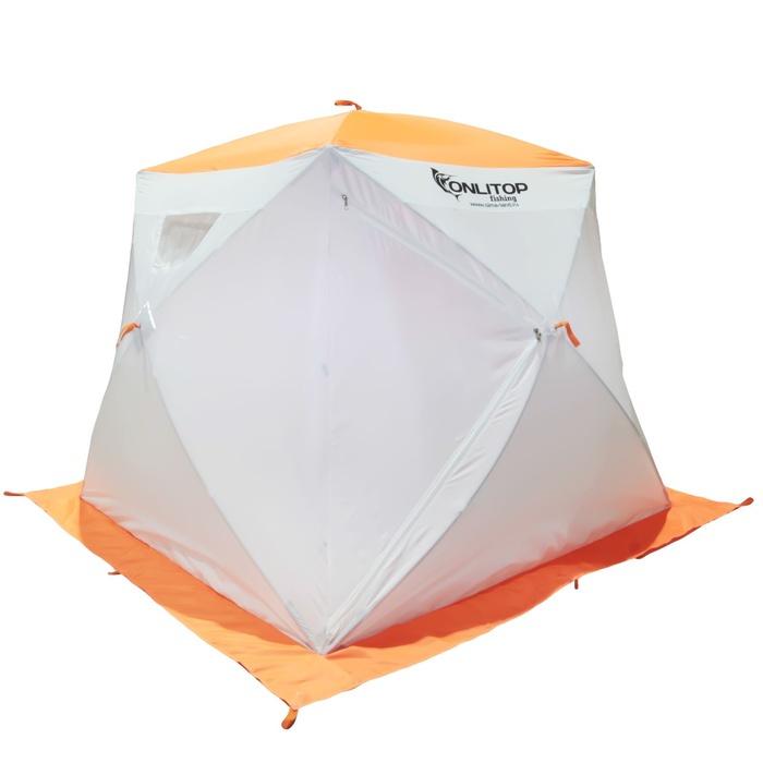 Палатка Onlitop Призма 150 Стандарт White-Orange 1176212 от Pleer