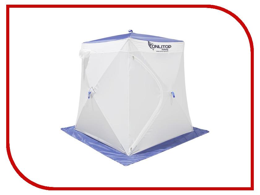 Палатка Onlitop Призма 150 Стандарт В95Т1 White-Blue 1176213