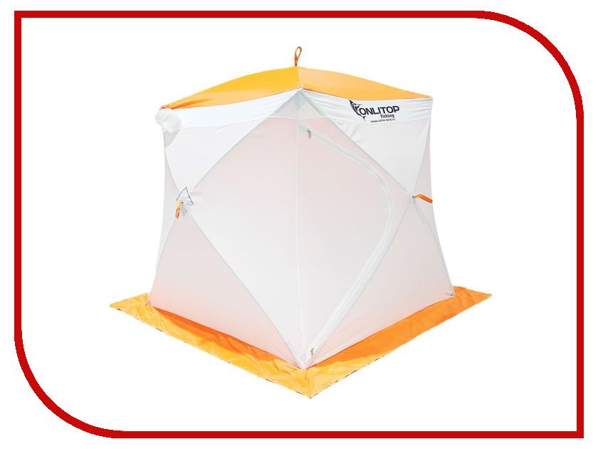 Палатка Onlitop Призма 170 Стандарт White-Orange 1176216<br>