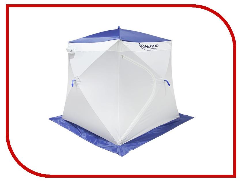Палатка Onlitop Призма 170 Стандарт В95Т1 White-Blue 1176217
