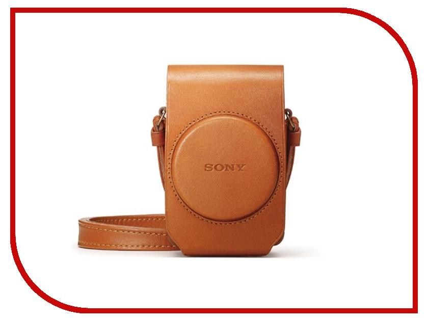 Sony LCS-RXG/T Brown для RX100M4 / RX100III / RX100II / RX100 lcs rxg t коричневый